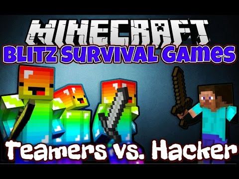 Minecraft: Blitz Survival Games - Teamers vs. Hackers! (Hypixel.net)