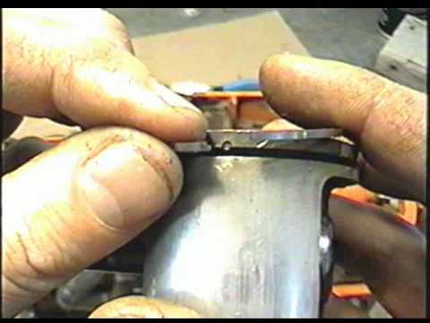 PART 1 OF 2 REASSEMBLING THE HUSQVARNA 55 Cylinder Piston & Ring