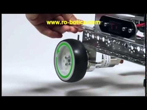 Robots TETRIX   LEGO Mindstorms Education programados con LABView en RO-BOTICA