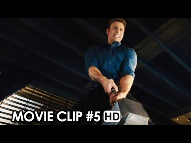 Avengers: Age of Ultron Movie CLIP #5 'The Hammer Lift Competition' (2015) HD