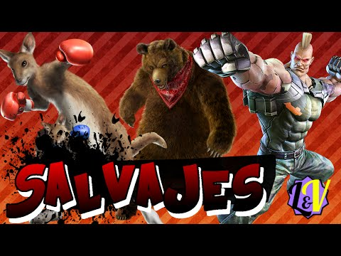 Luchadores Salvajes - L&V - Tekken