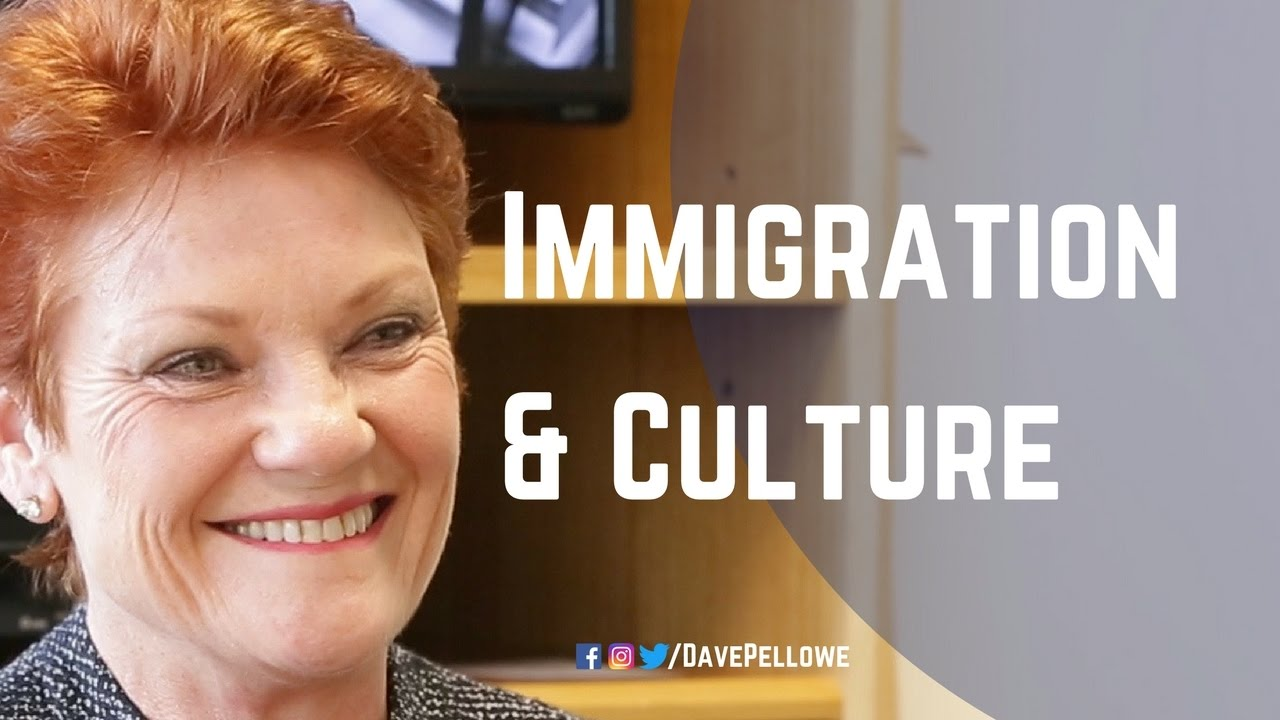 Australian Culture and Immigration Policy, with Senator Pauline Hanson and Dave Pellowe