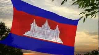 Cambodia Flag & National Anthem