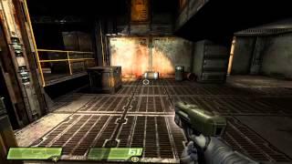 Quake 4 (2005) - (1) Menus and Air Defense Bunker