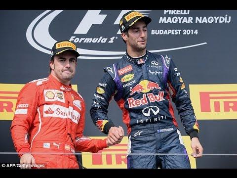 Daniel Ricciardo claims Hungarian Grand Prix as Lewis Hamilton pushes Mercedes rival Nico Rosberg