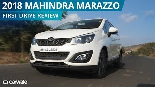 2018 Mahindra Marazzo | First Drive Review | CarWale