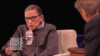 """He was a man who grew in that office"" Ginsburg on Rehnquist (Sep 27, 2017) 