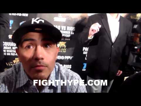 BRANDON RIOS SAYS HE WAS DISRESPECTED ON ESPN FIRST TAKE MANNYS NOT FIGHTING FLOYD