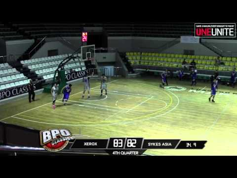 Xerox vs. Sykes Asia | Game Highlights | May 17, 2015