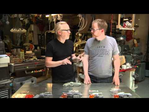 Inside Adam Savage's Cave: The Blade Runner Blaster Pistol