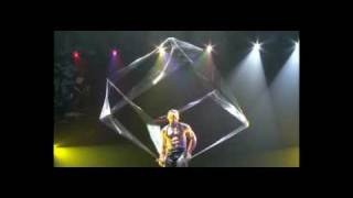 Cubique - circus cube act in cirque show (older version)