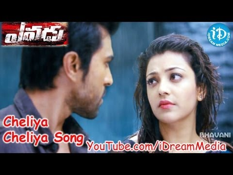 Yevadu Movie Songs - Cheliya Cheliya Video Song ||  Ram Charan, Shruthi Haasan, Amy Jackson || DSP