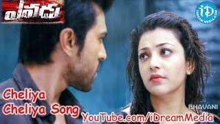 Yevadu Movie Songs - Cheliya Cheliya Video Song ||  Ram Charan, Shruthi Haasan, Amy Jackson || DSP