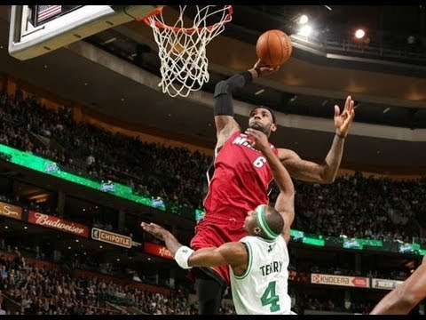 LeBron James Top 50 Dunks | 2012-13 NBA Season