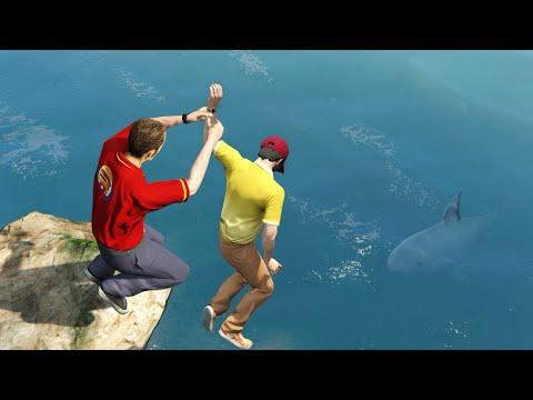 GTA 5 Water ragdolls/fails compilation vol.9 [Euphoria physics | Funny Moments]