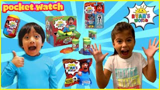 Ryan ToysReview - RYAN'S WORLD TOYS - NEW TOYS UNBOXING!!