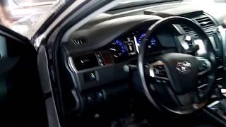 Тойота Камри в мороз -28 (-33) , незамерзайка, приора не заводится