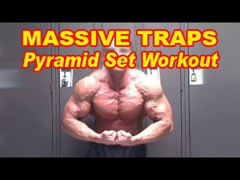 Killer Trap Workout - Barbell Shrugs Pyramid Sets Image 1