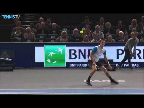 2015 BNP Paribas Masters Paris - Tuesday feat. Djokovic & Wawrinka