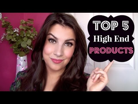My Top 5 High End Makeup Products
