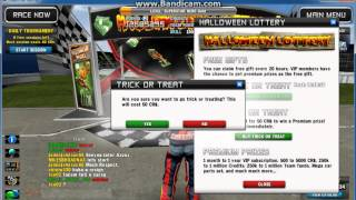 Halloween Lottery 2012 - Superstar Racing