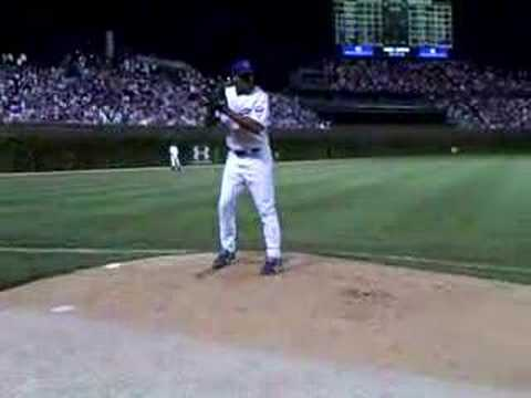 Cubs Game: Marmol Warm-up Video