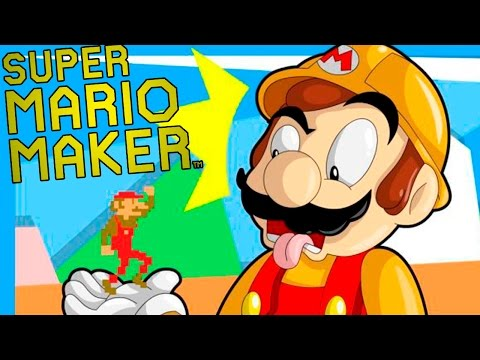 MARIO MAGRELO TÁ DE DIETA! – Super Mario Maker