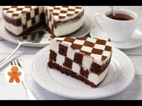 "Торт ""Шахматная Доска"" ✧ Chess Cake (English Subtitles)"