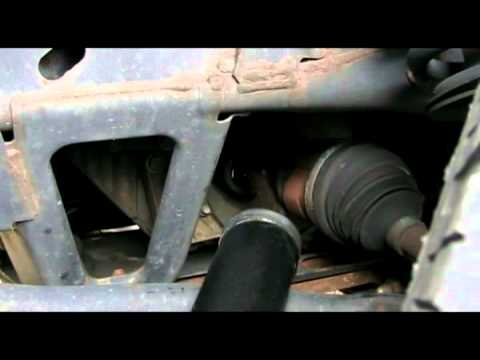 Rear Differential Fluid Change >> Chevy Trailblazer - checking/changing front differential fluid - YouTube
