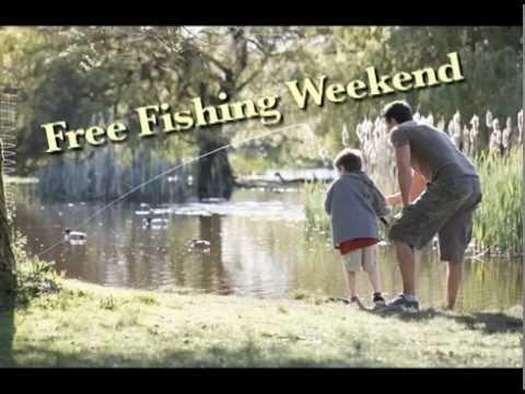 Rep. John Bizon M.D. reminds you of Free Fishing Weekend.