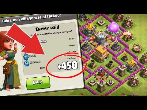 Clash of Clans Town Hall 6 (TH6) Trophy/War Base 2017