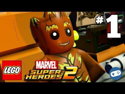LEGO Marvel Super Heroes 2 Walkthrough Part 1 - Guardians of the Galaxy - No Eson of Mine
