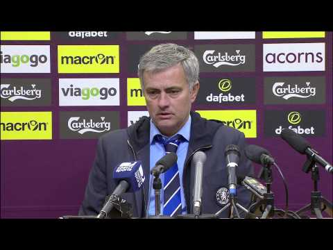 Jose Mourinho after Chelsea win at Villa: