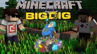 Minecraft: Big Dig #1 - Efsane Seriye Giriş!