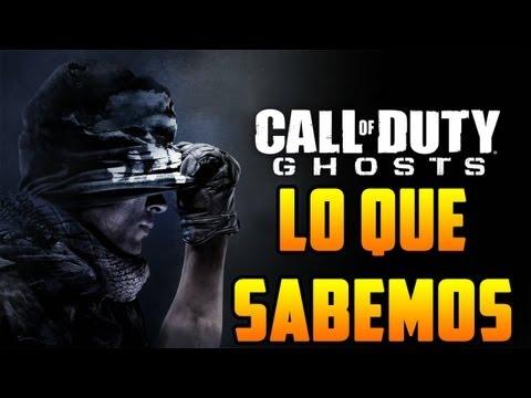 CoD Ghosts: Lo Que Sabemos Hasta Ahora (BO2 Gameplay)