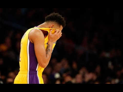 Lakers fans Boo D'Angelo Russell During Intros VS Miami Heat (3/31/16)