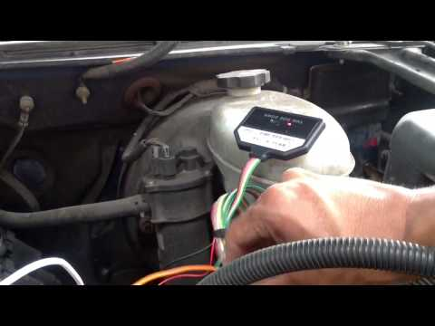 Gps tracking starter relay installation