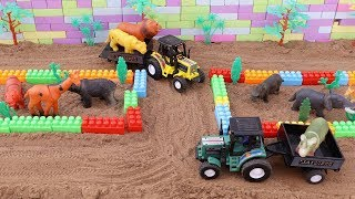 tractors for kids | animals for children | toys video | toddlers videos|outdoor games for kids| cars