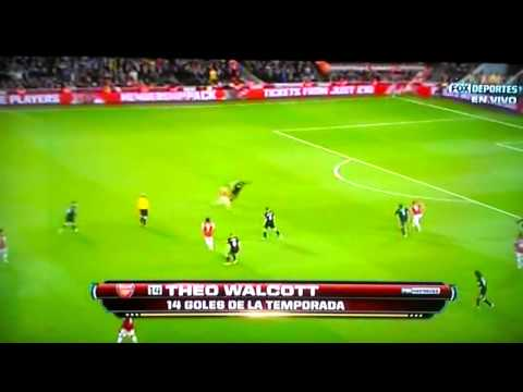 ARSENAL VS WIGAN 4-1 ALL GOALS 05/14/2013