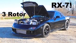 3 Rotor RX-7 Review with Rob Dahm!
