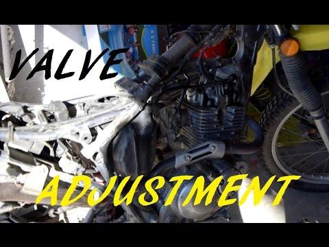 Suzuki DR200 Valve Clearance Adjustment Walkthrough