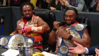 New Day sings Shawn Michaels theme song