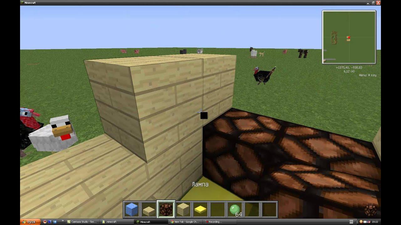 Minecraft Kак сделать боулинг - YouTube