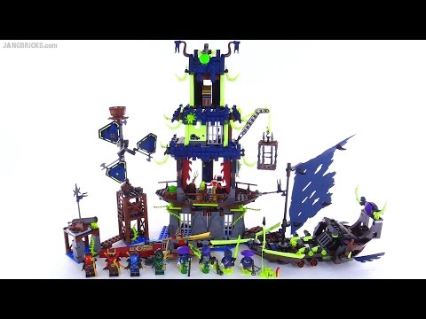 LEGO Ninjago City of Stiix full review! set 70732
