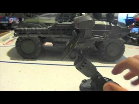 McFarlane Toys Halo Reach Gauss cannon vehicle upgrade pack review