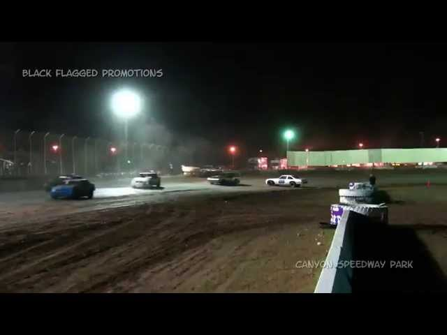 Canyon Speedway Park- Pure Stock Main March 14th 2015