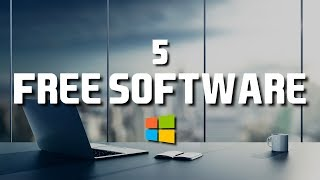 Download video 5 Free Software That Are Actually Great! 2018