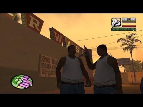 GTA San Andreas - Tips & Tricks - CJ as a Pedestrian
