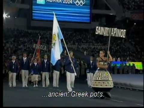 Athens 2004 Olympic Games opening ceremony, English Subs & Greek commentary