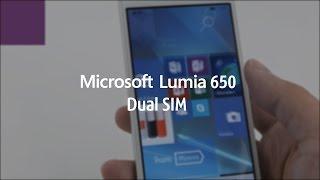 Связной. Видеообзор смартфона Microsoft Lumia 650 Dual SIM